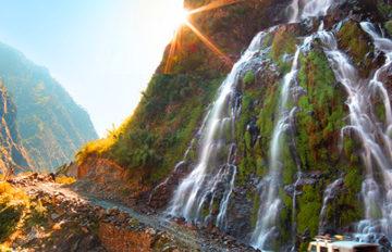 Annapurna Via Jomsom Trek