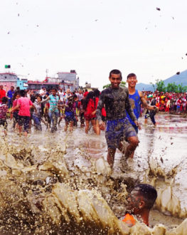 Rice Plantation (Ropai) and Mud Festival